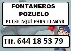 Fontaneros Pozuelo Urgentes