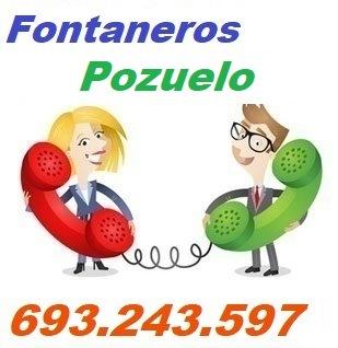 Telefono de la empresa fontaneros Pozuelo de Alarcon