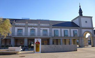Ayuntamiento en la localidad de Pozuelo de Alarcón